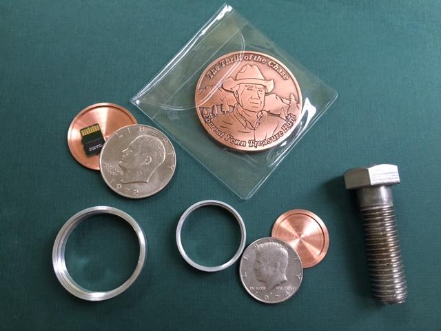 Tap4Treasure Bounty will include Forrest Fenn Searcher Coin